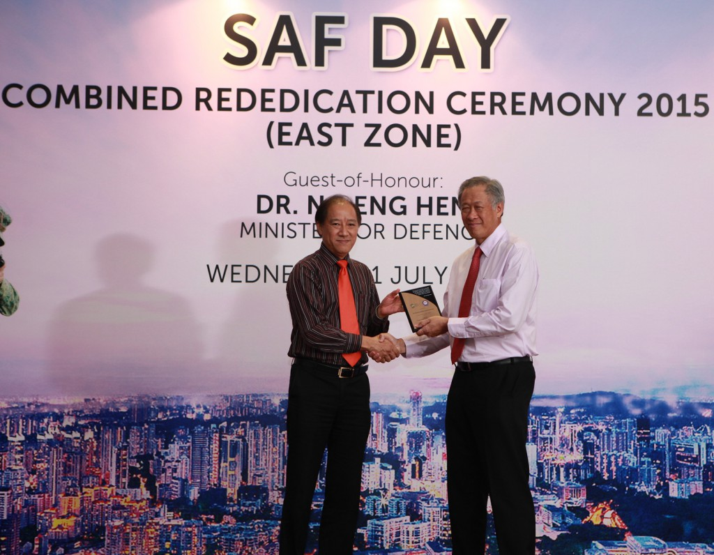 SAF Day Combined <br/>Rededication Ceremony 2015