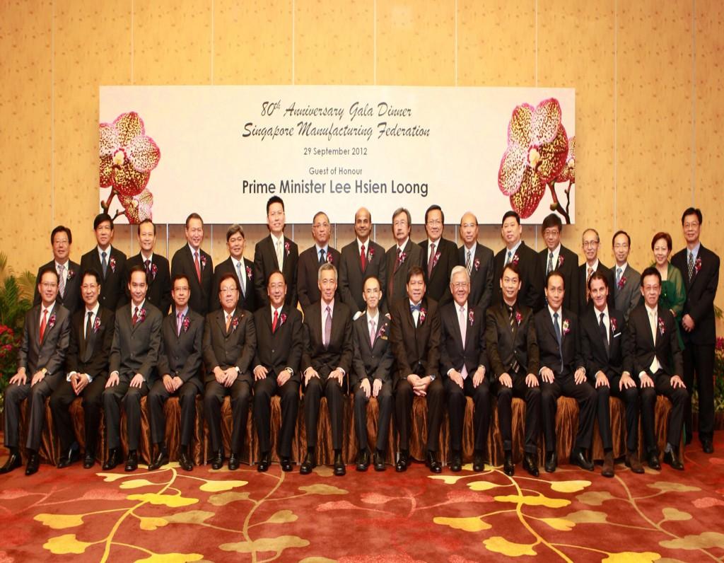 80th Anniversary Gala Dinner 2012