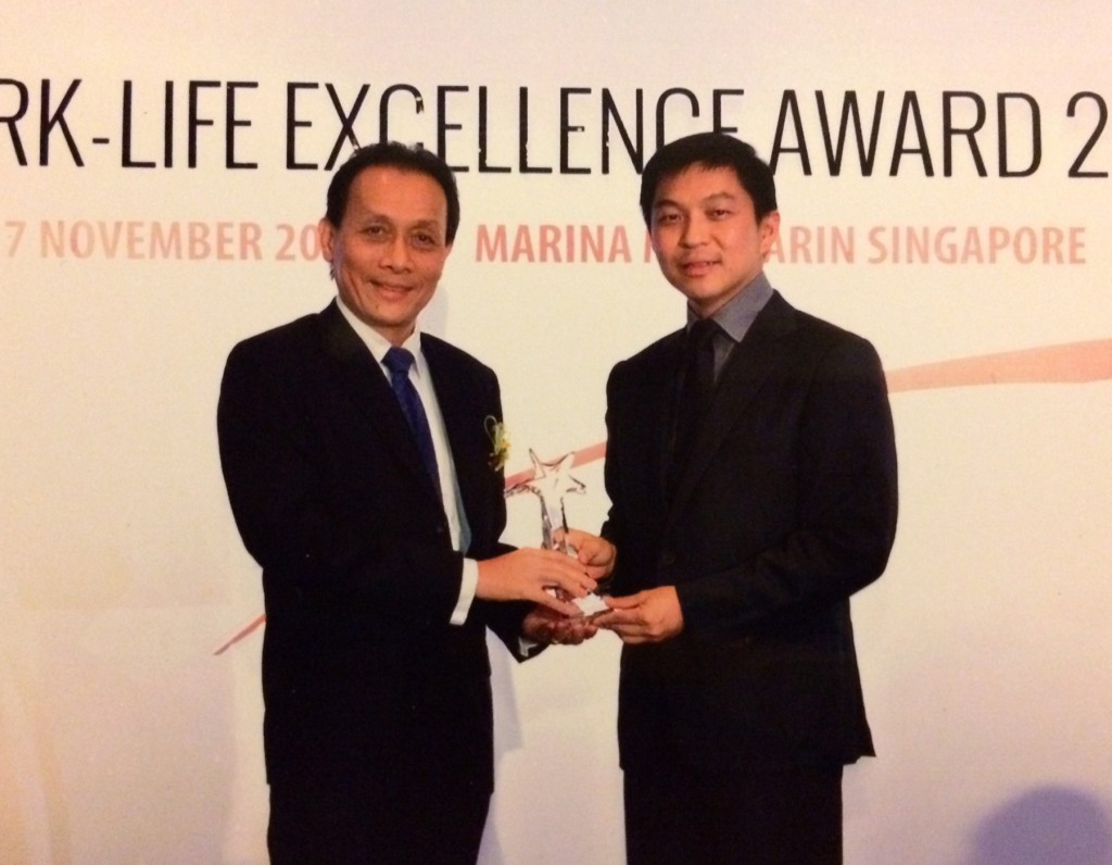 Work-Life Excellence Award 2014