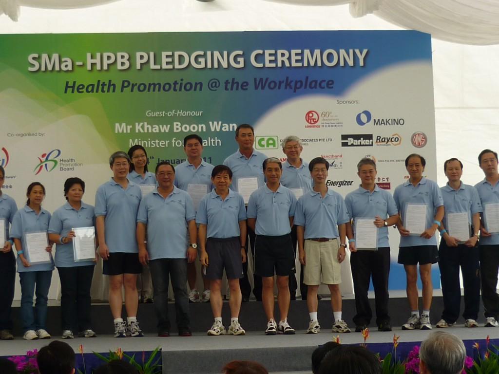 HPB Pledging Ceremony