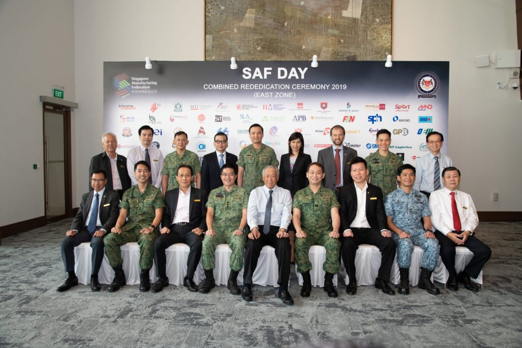 SAF Day Combined Rededication Ceremony 2019 (East Zone)