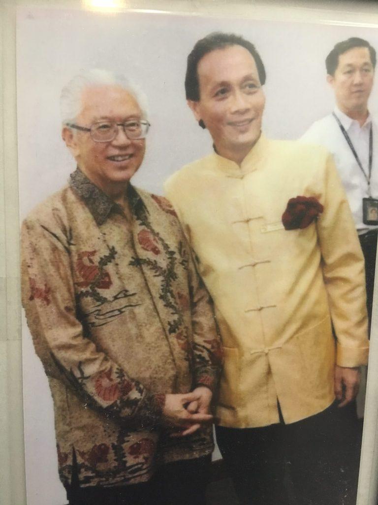 With Dr Tony Tan