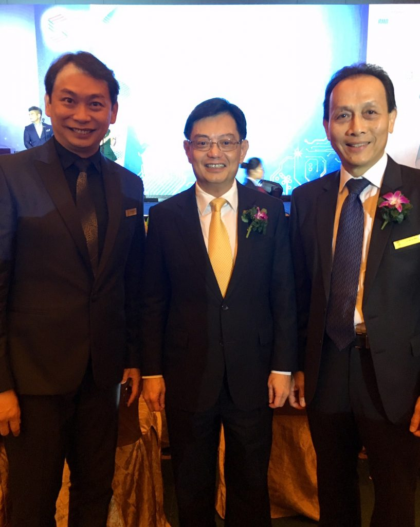 With Mr Heng Swee Keat