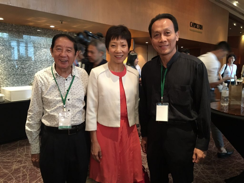 With Ms Grace Fu